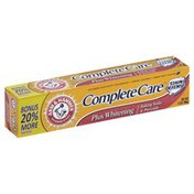 Arm & Hammer Toothpaste, Mint, Plus Whitening, Complete Care, Mint, Box