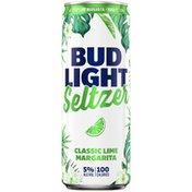 Bud Light Classic Lime Margarita Seltzer