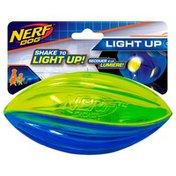 """NERF DOG 6.5"""" Translucent LED Football Dog Toy"""