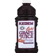 Kedem Juice Beverage, Light, Grape