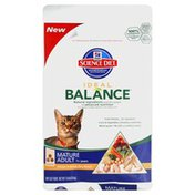 Hill's Science Diet Cat Food, Dry, Mature Adult, 7+ Years, Chicken & Brown Rice Dinner