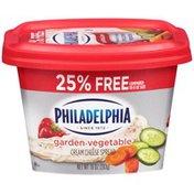 Kraft Philadelphia Garden Vegetable Cream Cheese Spread