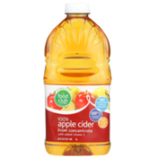 Food Club 100% Apple Cider From Concentrate