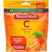 Nature Made Vitamin C, 250 mg, Gummies, Tangerine