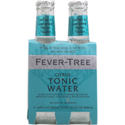 Fever-Tree Tonic Water, Citrus, 4 Pack