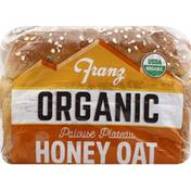 Franz Bread, Organic, Palouse Plateau, Honey Oat