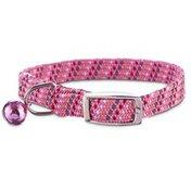 Bond Co. Kitten Collar Reflective Pink Gray