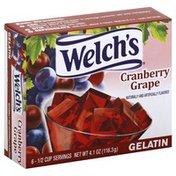 Welch's Gelatin, Cranberry Grape