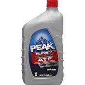 Peak Automatic Transmission Fluid, Full Synthetic, Multi-Vehicle