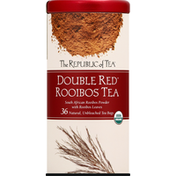 The Republic of Tea Rooibos Tea, Double Red, Bags
