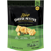 Stacy's Cheese Petites Parmesan With Rosemary Cheese Snacks