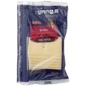 Hy-Vee Swiss Deli Style Cheese Slices