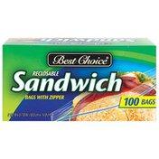 Best Choice Zip Plastic Sandwich Bags