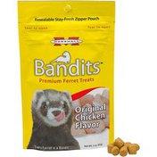 Marshall Pet Products Bandits Premium Ferret Treats Original Chicken Flavor