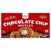 Market Pantry Waffles, Chocolate Chip