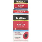 TopCare Extra Strength Omega-3 Krill Oil Dietary Supplement
