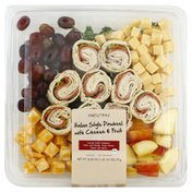 Taylor Farms Party Tray, Italian Style Pinwheel with Cheese & Fruit