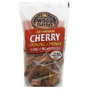 Barbeque Wood Flavors Cooking Chunks, Cherry