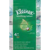 Kleenex Soothing Lotion Facial Tissues Rectangular Box