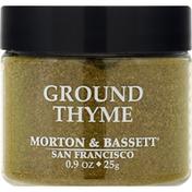 Morton & Bassett Spices Thyme, Ground