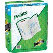 Bounty Select-A-Size Paper Towels, Print, Enormous Rolls = Regular Rolls