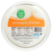 Food Club Pineapple Sherbet