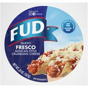 Fud Queso Fresco Mexican Style Crumbling Cheese