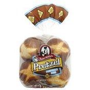 Aunt Millie's Pretzel Hamburger Buns