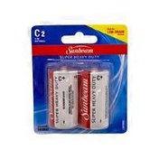 Sunbeam 1.5 Volt C2 Super Heavy Duty Low Drain Batteries
