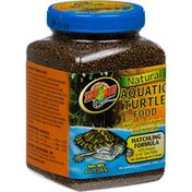 Zoo Med Natural Aquatic Turtle Food With Added Vitamins & Minerals Hatching Formula