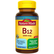 Nature Made Vitamin B12 1000 mcg Softgels