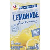 SB Drink Mix, Sugar Free, Lemonade