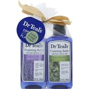 Dr. Teal's Foaming Bath, with Pure Epsom Salt, Eucalyptus & Spearmint/Lavender