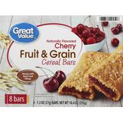 Great Value Cereal Bars, Fruit & Grain, Cherry