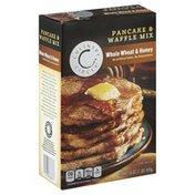 Culinary Circle Pancake & Waffle Mix, Whole Wheat & Honey