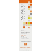 Andalou Naturals Beauty Balm, Sheer Tint, SPF 30, Brightening