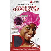 Donna Shower Cap, Double Sided, Assorted 22025