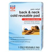 Rite Aid Cold Reusable Pad, Back & Neck, 1 pad