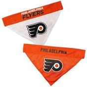 Pets First Medium NHL Philadelphia Flyers Reversible Pet Bandanna