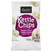 Essential Everyday Potato Chips, Sweet Maui Onion Style, Kettle-Cooked