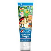 Crest Pro Health Stages Crest PH  Stages Kids Toothpaste- Jake and the Pirates  4.2 Oz  Dentifrice