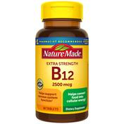 Nature Made Extra Strength Vitamin B12 2500 mcg Tablets
