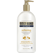 Gold Bond Skin Therapy Lotion, Shea Butter + Coconut Oil & Cocoa Butter, Softening