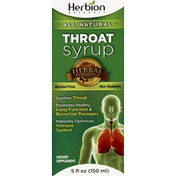 Herbion Throat Syrup