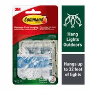 3M Command™ Outdoor Light Clips