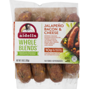 Aidells Sausage, Jalapeno Bacon & Cheese, Whole Blends, Sleeve
