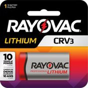 Rayovac Size CRV3 6V Lithium Batteries