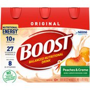 Boost ORIGINAL Peaches & Creme