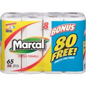 Marcal® 2-Ply 65-Sheet Regular Roll Paper Towels