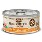 Merrick Limited Ingredient Diet Real Chicken Recipe Canned Cat Food in Case